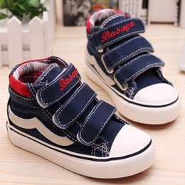 2015 Spring Autumn New Canvas Sneaker Boy Childrens Shoes Girls Shoes Kids Size 26 - 37