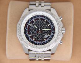 Luxury Mens Quartz Chronograph B 55mm stainless Windrider sports Chronomat Watch Evolution stainless steel Dive Watches