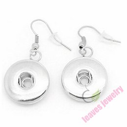 Wholesale fashion jewelry accessories Snap It Earrings Fit Snap It Button Charms best gifts for my dear