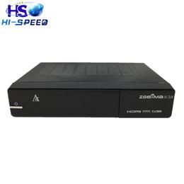 Wholesale 5pcs New Version Zgemma H H Dual Core Combo DVB S2 DVB T2 C Hybrid USB WIFI Linux E2 HBTV Receiver