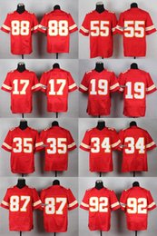 Wholesale 2015 Newest Men s Kansas City Gonzalez Davis kelce poe Avery maclin okoye Ford Elite Jerseys Football Jerseys