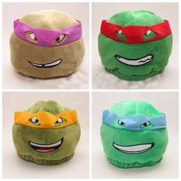 Wholesale 40pcs High Quality TMNT Ninja Turtles Hat Adult Size Plush Cap styles can choose HL