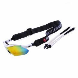 2017 marcos de carreras Al por mayor-compite con la chaqueta del marco bici de la bicicleta deportes al aire libre Gafas de sol Gafas de sol de los anteojos Gafas polarizadas lente Blanca 5 marcos de carreras promoción
