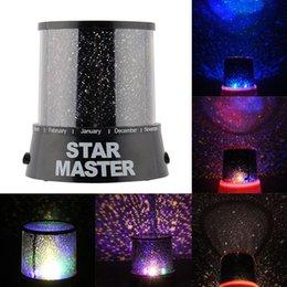 Nouveau Hot Magic 4 LED Sky Star ciel étoilé projecteur Night Light Lamp Nursery Home Display Cadeau Jouet Chambre à partir de lumière magique étoile fournisseurs