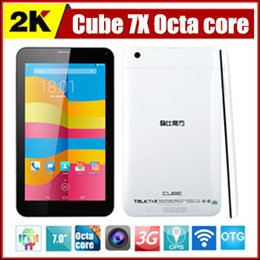 Wholesale Cube Talk x U51GT C8 Octa core inch g phone call tablet Android MTK8392 IPS GPS Bluetooth Wi Fi GSM TDS WCDMA G G Phablet