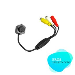 Mini Video Audio CCTV Security Camera MIC with 3.7mm Pinhole Lens