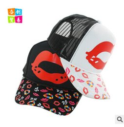 Wholesale Ms Han edition is prevented bask in outdoor leisure tide new hat han edition summer sun shade net cap
