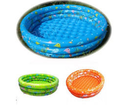 Wholesale New trinuclear inflatable pool baby swimming pool with pump cm child fishing toy swimming ocean ball pools hot Infant bathtub colors