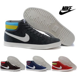Nike Blazer 3 Easthan Mid High Cut Casual Shoes For Men High Quality Skate Shoes Cheap Classic Campus Fur Winter Sneakers Boots Size 6.5-10