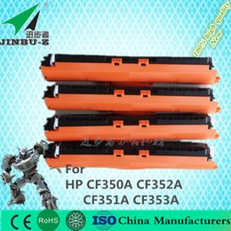 Wholesale HP CF350A CF351A CF352A CF353A A Toner Cartridge K Yield for HP Color LaserJet Pro MFP M176n fw Toner