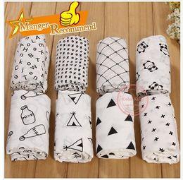 "Baby Cotton Bamboo Wrap Newborn INS Swaddleme Muslin Swaddling Blanket Infant Swaddle Towel Famous Multifunctional 120x120cm 47*47"""
