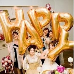 "40""Foil Balloons Letters Wedding Decoration,Party Decoration Aluminum Foil Balloon Letter A-Z,Inflatable Helium Foil Balloons"