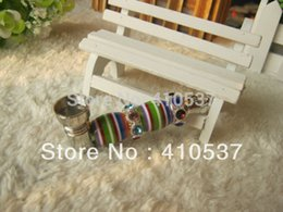 Wholesale-Retail 1pc diamond colorful stripe Arabesque YD147 Rasta Smoking Pipe Metal tobacco pipes