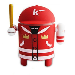 Wholesale Wireless Bluetooth Mini Speaker Android Robot Baseball Guy Style Support TF Card FM Radio Speaker the Second Generation Android Speaker