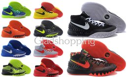 Wholesale New Kyrie Irving Men Basketball Shoes Kyrie Dream Deceptive Red Basketball Sneakers For Sale with High Quality EU41 US8