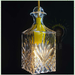 Wholesale Silicon Rubber crystal glass vase decorative pendant lamp giving edison classical incandescent lights