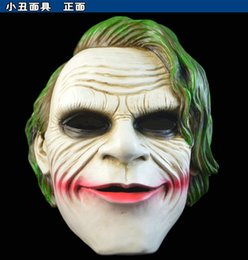 Wholesale Batman Dark Knight Deluxe Edition gifts resin mask full face clown props