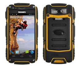 Wholesale Discovery V8 Waterproof Cell Phone Quad Core MTK6582 G GPS inch Screen GHZ MP Dustproof Shockproof Outdoor Phone