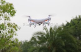 2016 drones de caméras aériennes Hélicoptère Vente en gros-Hot SYMA x5C 2.4G 4CH 6-Axis Professional aérienne RC Quadcopter Toys Drone Avec Caméra Livraison gratuite! drones de caméras aériennes autorisation