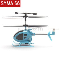 Free shipping 2014 New Syma S6 3CH RC Mini helicopter with GYRO remote control toys the world smallest helicopter