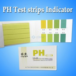 Wholesale Good Quality Pack pH Meters PH Test strips Indicator Test Strips Paper Litmus Tester Urine amp Saliva