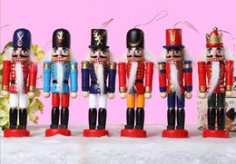 Wholesale 12 CM Continental Nutcracker toy soldier puppets popular ornaments fashion creative home Valentine s Day gift