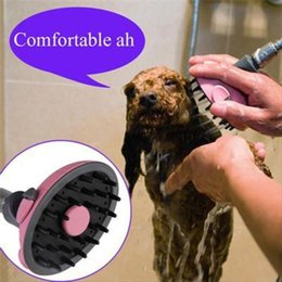 Wholesale High Quality Multifunctional Pet Dog Bath Shower Head Massage Shampoo Groom Puppy Comb Brand Dog Supplies