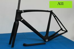 Wholesale Light weight original design T800 full carbon road bicycle bike frame BSA BB30 mechanical Di2 custom painting
