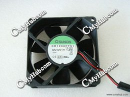 Cooling Fan For SUNON KD1208PTS1 13.GN 12V 1.8W 2-wire Server Square Fan 80x80x25mm