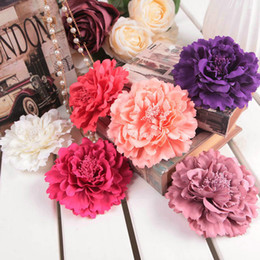Wholesale Only Handmade Flowers With Clips Bridesmaids Beach Summer Hair Flowers Evening Wedding party Floral Graland Tiaras WWL