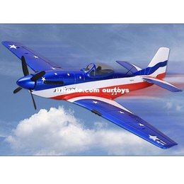 Wholesale North American P D P51D for Mustang mm Wingspan Warbird KIT Rc Airplane