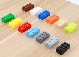2017 Enlighten Creative DIY High Building Block Toys multicolor 2x4 stud bricks toys