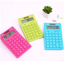 Wholesale calculators TOP2015 BEST SELLER COLORFULSolar Dual Power Calculator Desktop A LCD SCREEN DIGITALS Solar Dual Power Calculator