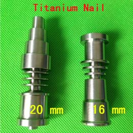 Titanium Nail 4 in 1 and 6 in 1 Domeless Titanium Nails Titan Nail honey buckets with Male and Female Joint
