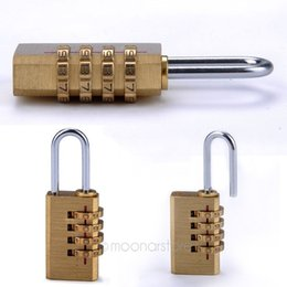 Wholesale 4 Digit Password Padlock Combination Luggage Code Lock Mini Suitcase Lock For Travel FMHM488 S1