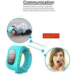 Wholesale Advanced Kids Smart Watches Anti Lost Watch Wistwatch SOS Call Location Finder Locator Tracker for Kid Child Children GPS Monitor Bracelet