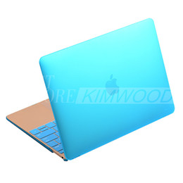 "Macbook shell 13 en Ligne-Case Ultrathin intelligente Shell satin mat dur caoutchouté Cover Pour Macbook Air 11 ""13"" Macbook Pro / Retina Display 13 ""15"" couleur cas de mélange"