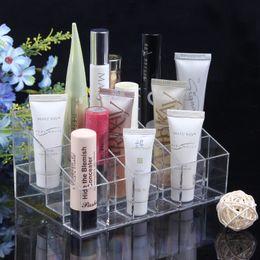 Wholesale organizer for cosmetics drawer organizer lipstick holder box fashion makeup organizer plastic storage acrylic makeup organizer