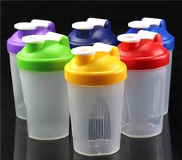 Wholesale Smart Shake Gym Protein Shaker Mixer Cup Blender Bottle with Stainless Whisk Ball Colors NEW
