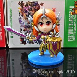 Wholesale LOL Cute Q League of Legends LEONA Model Stuffed Action Figure Toy Gift cm