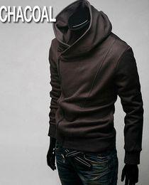 2015 HOT Brand New Diagonal zipper Men's Hoodies & Sweatshirts Jacket Coat Size M,L,XL,XXL,XXXL