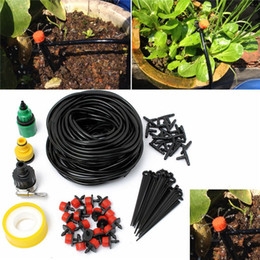 Wholesale DIY Micro Drip Irrigation System Automatic Plant Watering Kits Garden Gardening Drip Irrigation Equipment M Hose Drippers