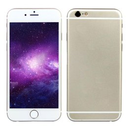 Wholesale 4 inch Goophone i6s V5 G LTE Touch ID Fingerprint Scanner Bit Octa Core MTK6795 GB RAM GB ROM Android MP Camera Smartphone