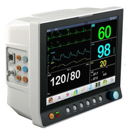Wholesale CE Multi parameter patient monitor with battery Spo2 ECG NIBP Dual channel TEMP PR SPO2 RESP Medical Monitoring Device
