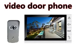 Wholesale best sale video door phone TFT LCD screen with high resolution decorative doorbell chime covers for villa
