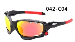 Wholesale-New Outdoor Bicycle Cycling Eyewear Glasses Sport Sunglasses UV400 3 Pairs Lens Sporting Sun Glasses Goggles