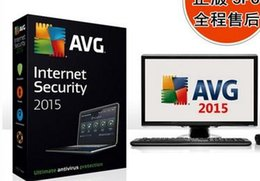Wholesale Newest computer antiviral protect AVG Internet Security newest version expire users good high and best price