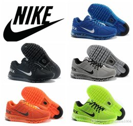 2016 Shoes Run Air Max 2016 Nike AIR MAX 2013 men running shoes original quality airmax Jogging Shoes KPU Material Sports Training shoes Size 40-47 US13 Shoes Run Air Max outlet