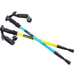 Wholesale Best Quality Hiking Walking Sticks Carbon Fiber Alpenstock Trekking Pole Sticks