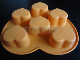 Silicone cake mould& Chocolate mould& ice cube tray& Mat& scraper& Brush-6A001 Silicone Toast Mould